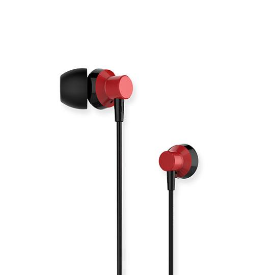 Earphones Remax RM-512 Red Metal