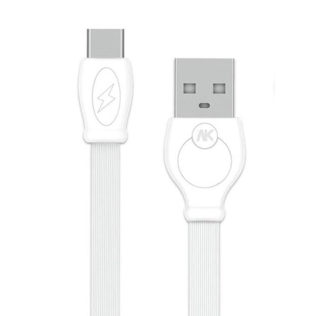 Charging Cable WK TYPE-C White 1m Fast WDC-023