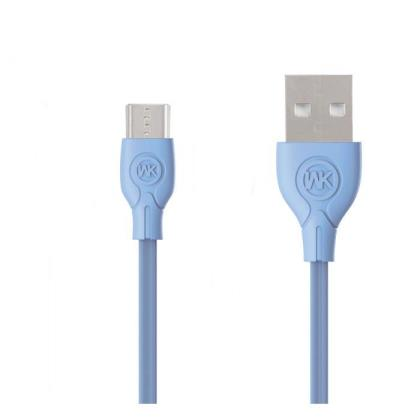Charging Cable WK Micro Blue 1m Ultra speed Pro WDC-041
