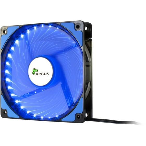 Case Cooler 12cm Argus L-12025 Blue