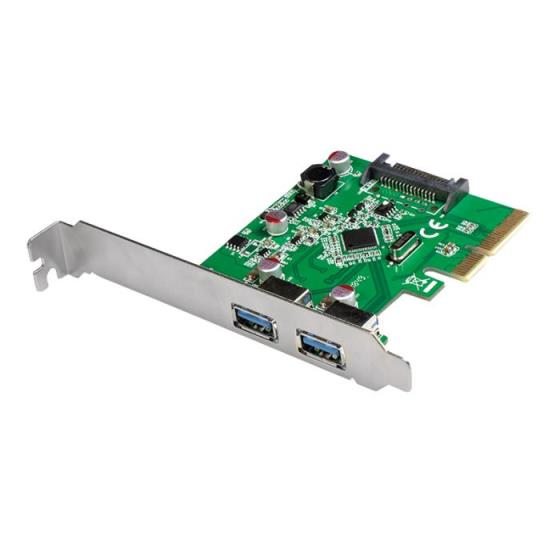 Pci Express to 2x USB 3.1 Gen2  Logilink PC0080