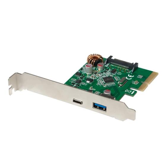 Pci Express to 1xUSB 3.1 Gen2 1xType-C  Logilink PC0081