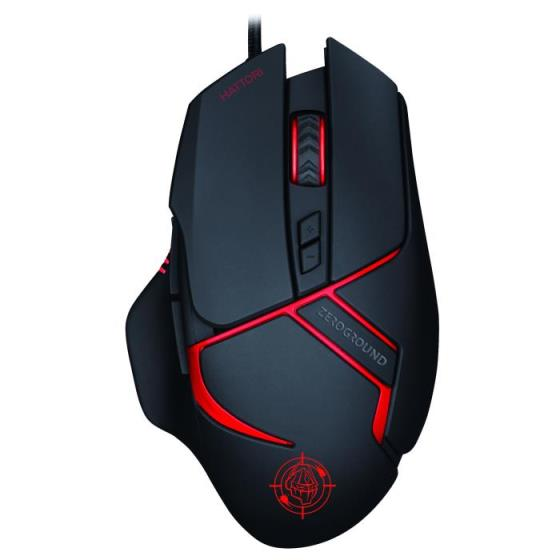 Mouse Zeroground MS-3400G HATTORI v3.0