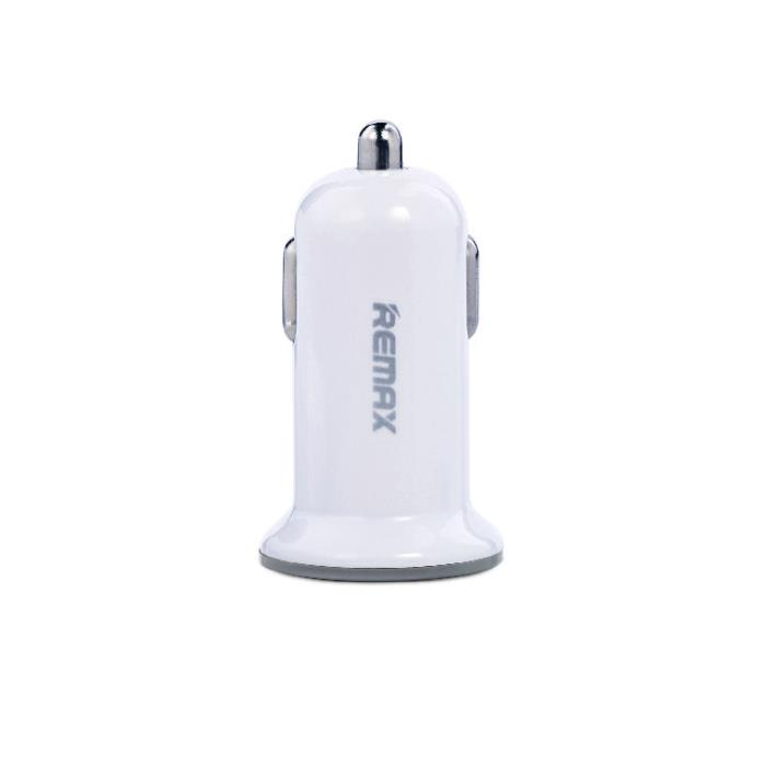 Car Charger Remax 2,1A USBx2 Dual Mini White
