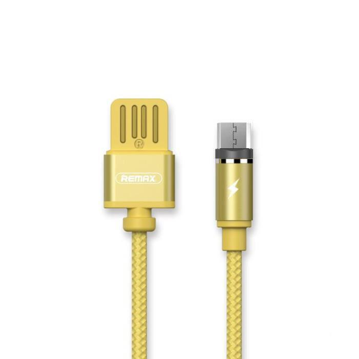 Charging Cable Remax Magnetic Micro Gold 1m Gravity RC-095a