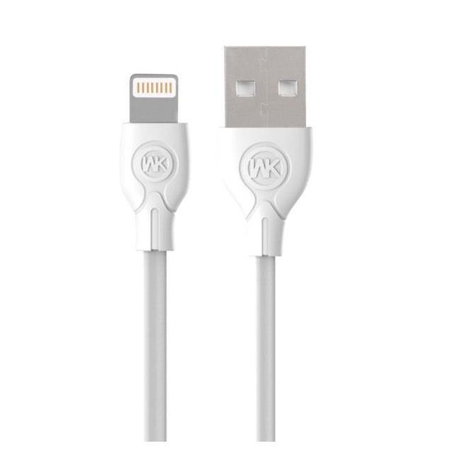 Charging Cable WK i6 White 1m Ultra speed WDC-004
