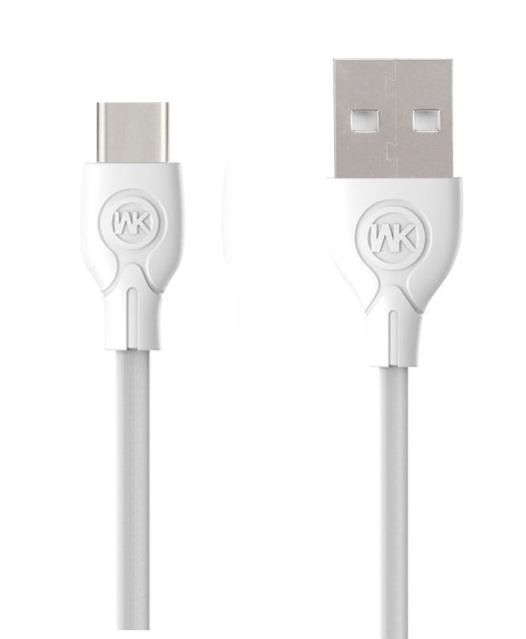 Charging Cable WK TYPE-C White 1m Ultra speed Pro WDC-041