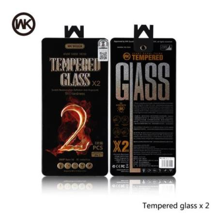 Tempered Glass WK (2pcs set) for iPhone X