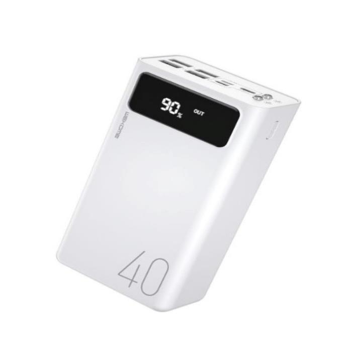 Power Bank WK 40000mAh HUNERGY White WP-169