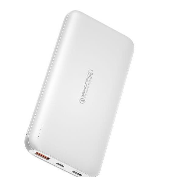 Power Bank WK 20000mAh GIFON QC3.0+PD18W White WP-189