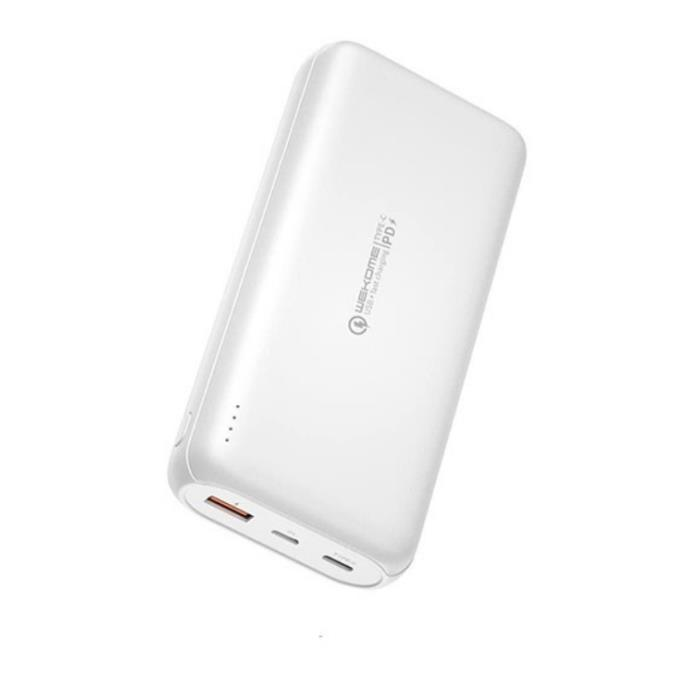 Power Bank WK 10000mAh GIFON PD PD+QC3.0 18W White WP-187