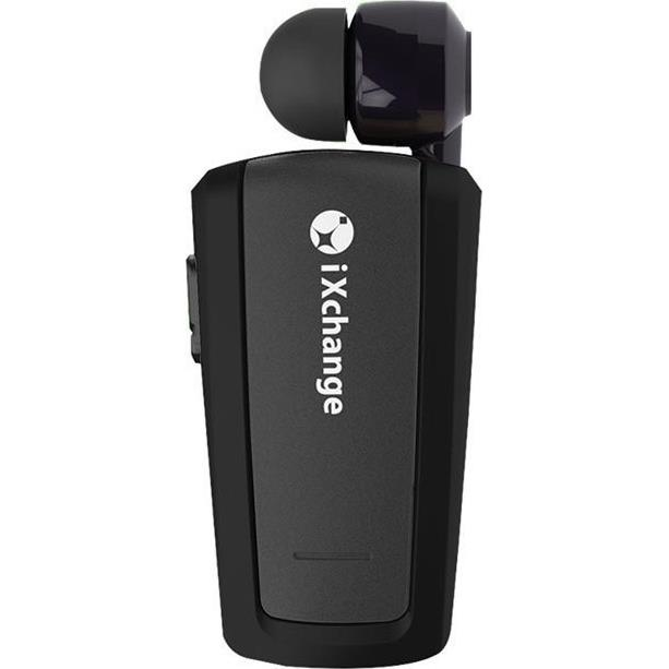 Retractable Bluetooth Mini Headset iXchange UA25XB Black